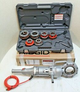 Ridgid 700 Pipe Threader W set Of 12r Dies new Plastic Case 100 Tested