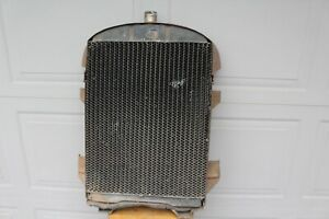 1927 1928 Chevrolet Harrison Radiator Core And Retainer Band