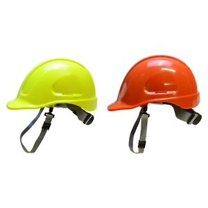 Forester Safety Helmet hard Hat W Chin Strap 6 Point Ratchet Suspension System