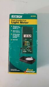 Vtg Extech 401025 Foot Candle lux Light Meter Analog Output Fast slow