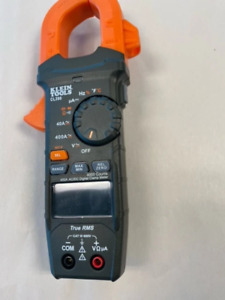 Klein Tools Cl390 Auto ranging Digital Clamp Meter cl390 Used