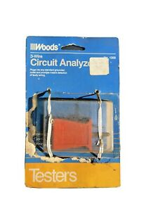 Woods Ground Fault Receptacle Tester Circuit Analyzer 110 125v Ac For Gfci Vtg
