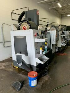 Used 2014 Haas Vf 2ss Cnc Vertical Machining Center 30x16 Super Speed Mill Ct40