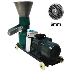 6mm Animal Feed Pellet Mill Machine Suit For Cattle Sheep Pig Horses
