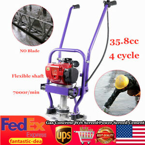 Gx35 4 stroke 35 8cc Gas Concrete Wet Screed Power Screed Cement Engine 7000rpm