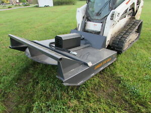 Wolverine 72 Brush Hog Mower Attachment Skid Steer Tractor Local Pickup Only