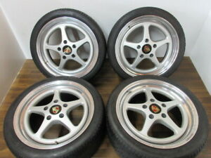 Rare 18 Oz Racing Mito For Porsche 964 Cup 965 Turbo Piece Forged Wheels
