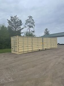 Open Side os 40 Hc New Shipping Container