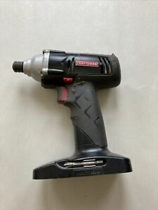 Craftsman C3 192v 14 Cordless Impact Drill Driver Works Perfectly