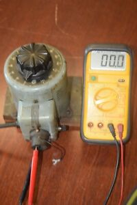 Powerstat Variable Autotransformer 116 7 5 Amp Tested Working