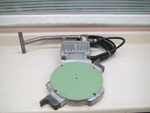 Mcelroy 28 Fusion Machine 2 8 120vac Heating Plate Heater Iron Used