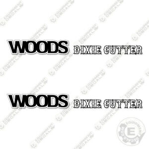 Woods M5 Dixie Cutter Decal Kit 7 Year 3m Vinyl