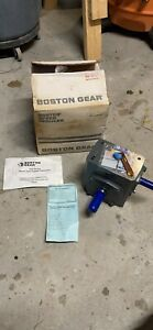 Right Angle Boston Gear Speed Reducer 30 1