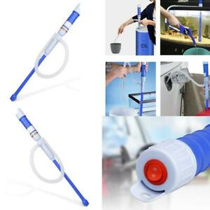 Electric Water Siphon Pump Liquid Transfer Gas Oil Fish Tank Battery Operated Us