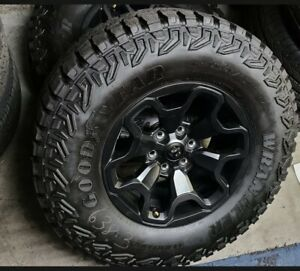 4 X Ram Trx Factory 35 Inch Tires Rims Balanced Ready To Mount With Tpms