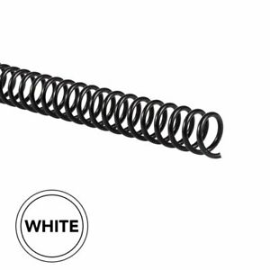 Gbc Color Coil Binding Spines 11mm White 100 Pack Binding Spines