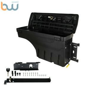 W Lock Truck Bed Swing Case Storage Tool Box Right For 2007 2020 Toyota Tundra