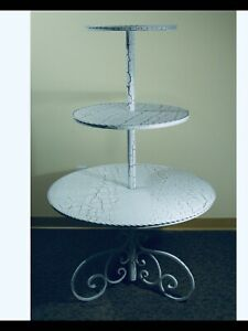 3 Teired Display Table Store Fixture For Store Display 60 H 2 4teired Availabe