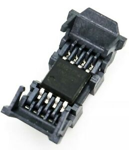 8 pin Smd Spi Flash Clamshell Socket For Sop8 So8w 208mil Chip Bios 25 26 45