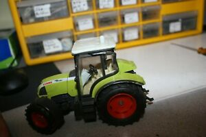 1 32 Scale 4x4 Claas Tractor Played With Condition 6 Long 4 High
