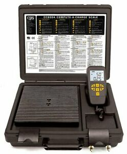 Cps Cc800a Compute a charge 220 Lb Refrigerant Scale