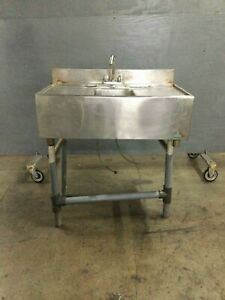 40 Stainless Steel Sink 4 Bac Splash Need This Sold Send Me Best Offer