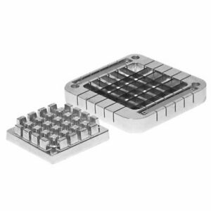 Choice 1 2 Stainless Steel Blade Assembly And Push Block For French Fry Cutters