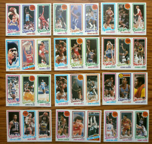 1980 81 Topps Basketball Cards Complete Your Set U You Pick From List 2 220