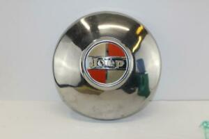 Vintage Jeep Hubcap Wagoneer Jeepster Commando Kaiser