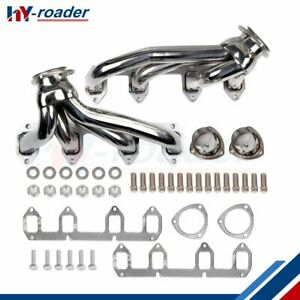 For Ford Big Block Fe 330 360 390 428 V8 Stainless Shorty Headers Exhaust New