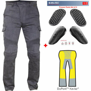 RTX GREY Motorcycle Biker JEANS SAS TEC CE Level 2 Armour amp; Made with Kevlar GBP 109.99