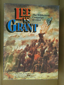 Victory Games Lee vs Grant The Wilderness Campaign of 1864 $35.95
