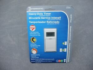 New Intermatic St01k 7 day Programmable Heavy duty Timer With Astro Feature