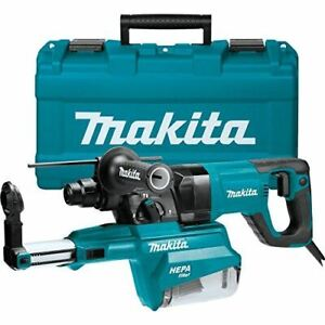 Makita Hr2661 1 Avt Rotary Hammer Accepts Sds plus Bits W hepa Dust Extractor