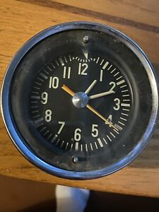 Studebaker Golden Hawk Clock Untested Missing Knob Dated Awesome Look