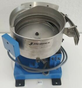 preowned Jerhen 10 Stainless Steel Vibratory Bowl Parts Feeder 120v warranty