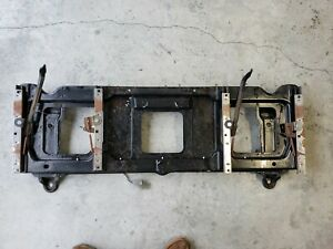 92 96 Ford F150 Truck Single Cab Bench To Bucket Seat Base Tracks Left And Right