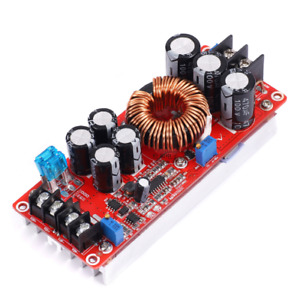 1200w 20a Dc Converter Boost Car Step up Power Supply Module 8 60v To 12 83v