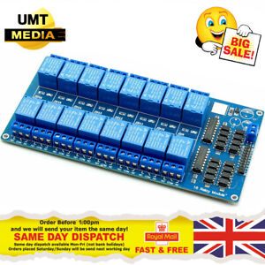 16 Channel 5v Relay Module Optocoupler Protection For Arduino Pi Arm Avr Dsp Pic