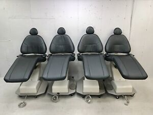 4 Adec 1040 Dental Exam Chair Black Patient Exam Chair All 4 Included