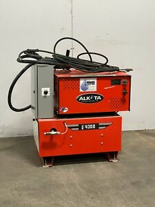 Used Alkota 4308 3 5 Gpm 3000 Psi Electric Hot Water Pressure Washer 3ph 460v
