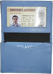 New Slim Business Credit Card Id Card Picture Holder 4 Card Case And Id Brand Nw