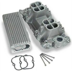 Weiand 7540 Stealth Ram Intake Manifold Small Block Chevy V8