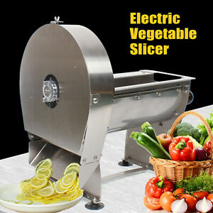 Home Electric Automatic Vegetable Potato Chopper French Fries Cutter Durable New