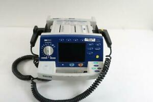 Philips Heartstart Xl M4735a Biphasic Monitor With Hard Paddles