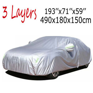 Xl Waterproof Full Car Cover Outdoor Dust Sedan Protection For Chevrolet Camaro Fits 2012 Camaro