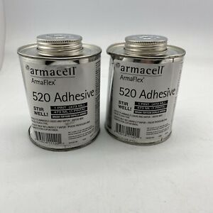 2 Pack Armaflex 520 Adhesive Industrial Contact Pint With Brush 08 05 20