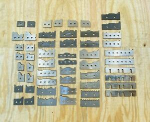 26 Pairs Of Moulder Blades Bits Knives Corrugated Back Shaper Router Profile