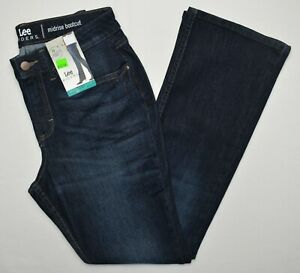 Lee Riders #11101 NEW Women#x27;s Regular Fit Mid Rise Bootcut Jeans $19.99