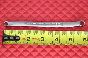 Vintage Craftsman 6mm X 8mm Metric Offset Double Box End Wrench v Forged Usa